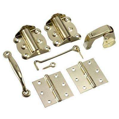 Brass Screen Door Kit (7-Piece)