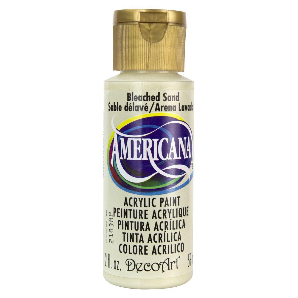 Americana 2 oz. Bleached Sand Acrylic Paint