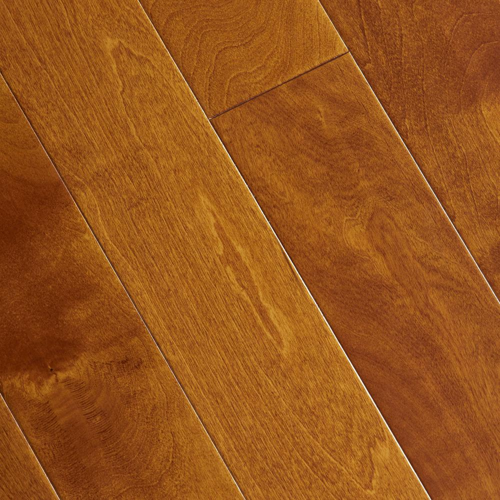 Home Legend Hand Scraped Maple Sedona 3/8 in. T x 4-3/4 in. W x Varying Length Click Lock Hardwood Flooring (24.94 sq. ft. /cs)