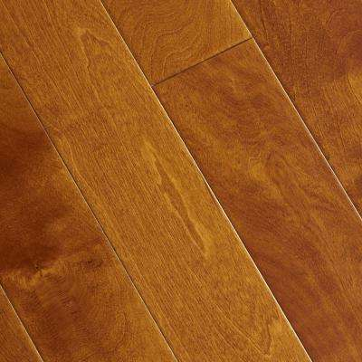 Hand Scraped Maple Sedona 3/8 in. T x 4-3/4 in. W x Varying Length Click Lock Hardwood Flooring (24.94 sq. ft. /cs)