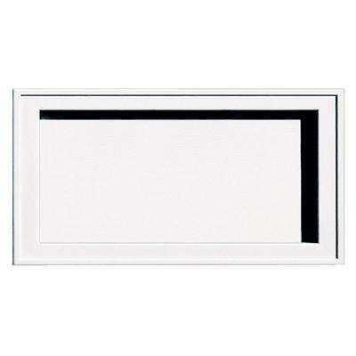 Recessed Jumbo Mounting Block #001-White