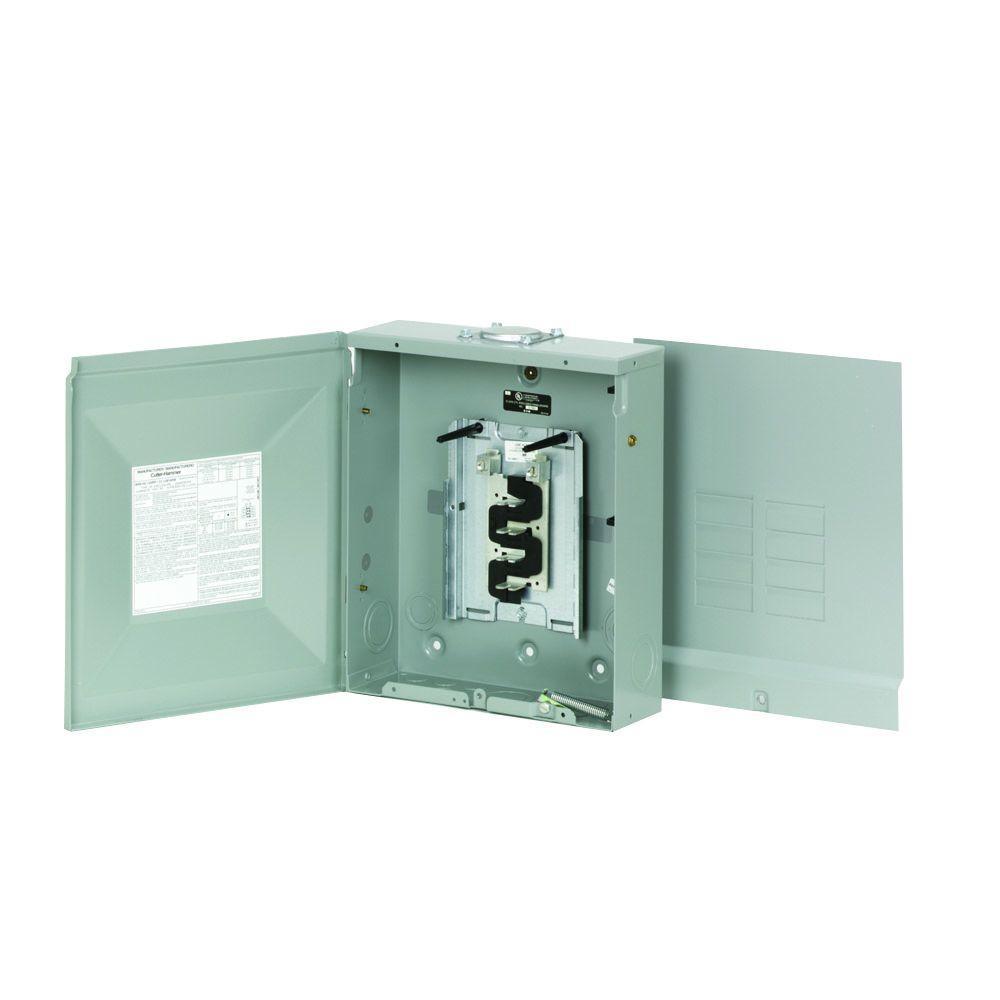 125 Amp 8-Space 16-Circuit BR NEMA 3R Main Lug Load Center