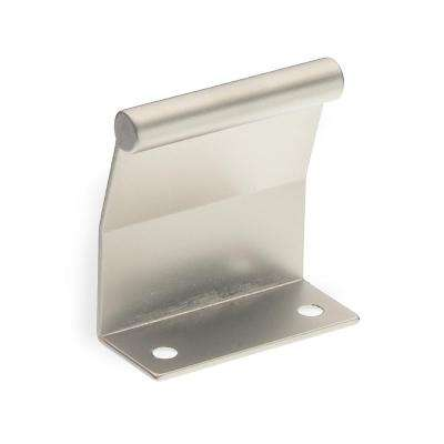 satin nickel tab cabinet pull