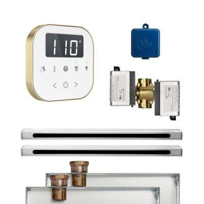 AirButler 2 Linear Package White Brushed Bronze