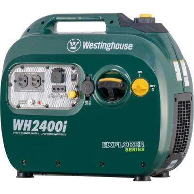 2,400-Watt Gasoline Powered Digital Inverter Generator with Parallel Capabilities