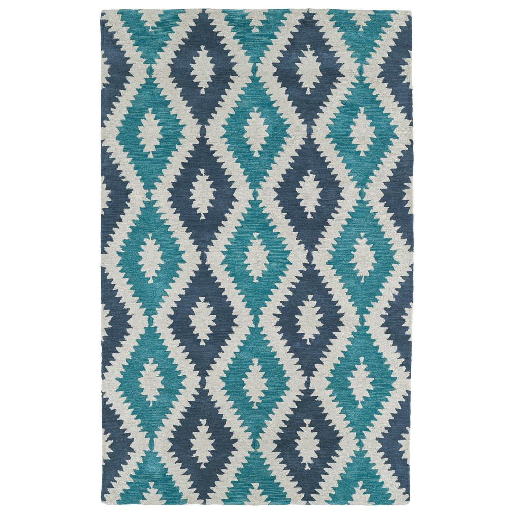 Lakota Turquoise 5 ft. x 7 ft. 9 in. Area Rug