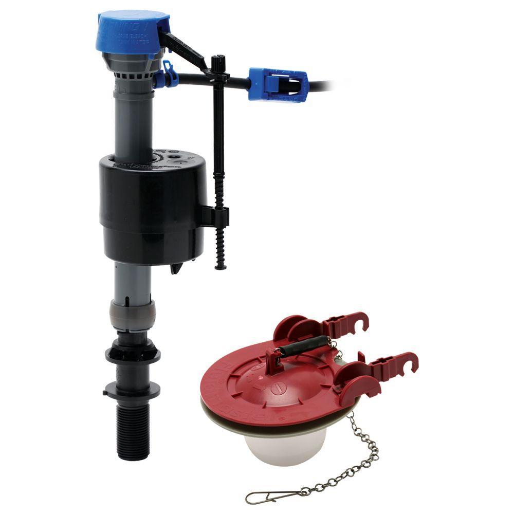 toilet flapper valve types. Fluidmaster PerforMAX Toilet Fill Valve and 3 in  Adjustable Flapper Kit