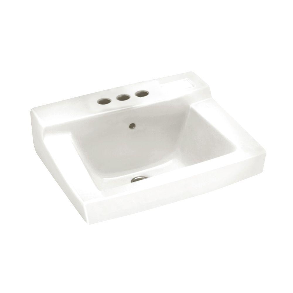 American Standard Declyn Wall-Mounted Bathroom Sink in White
