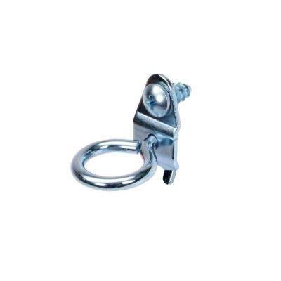 1-3/8 in. Single Ring 3/4 in. I.D. Zinc Plated Steel Tool Holder (10-Pack)