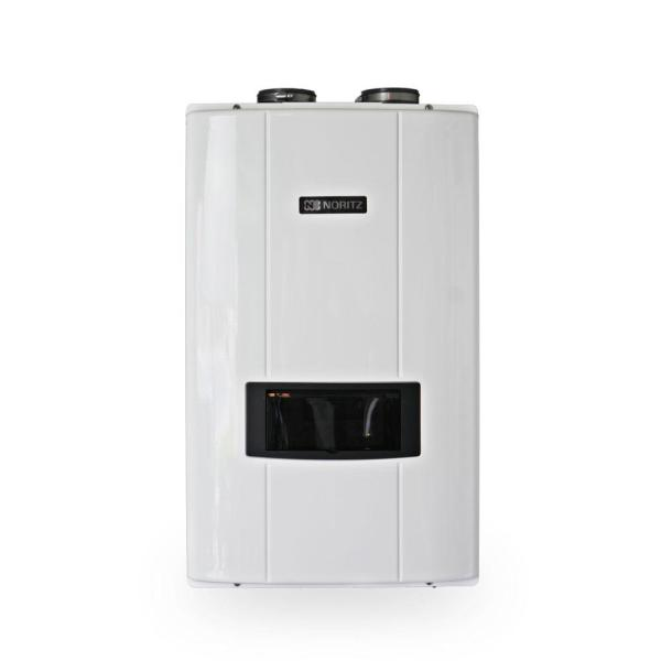 10.1 GPM Natural Gas Indoor Direct Vent Recirculating Tankless Water Heater Max 180,000 BTU/H
