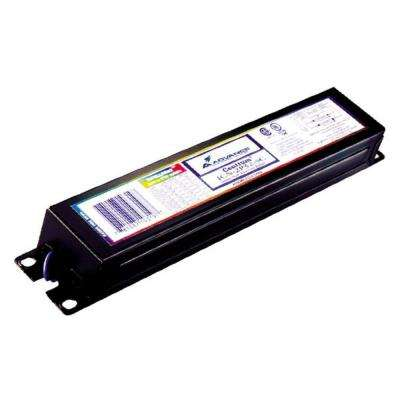 Optanium 120/277-Volt 4-Lamp T8 Instant Start Electronic Fluorescent Replacement Ballast