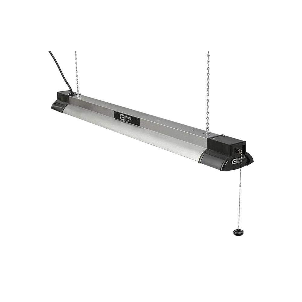 Commercial Electric 40 In 64 Watt Equivalent Integrated Led Brushed