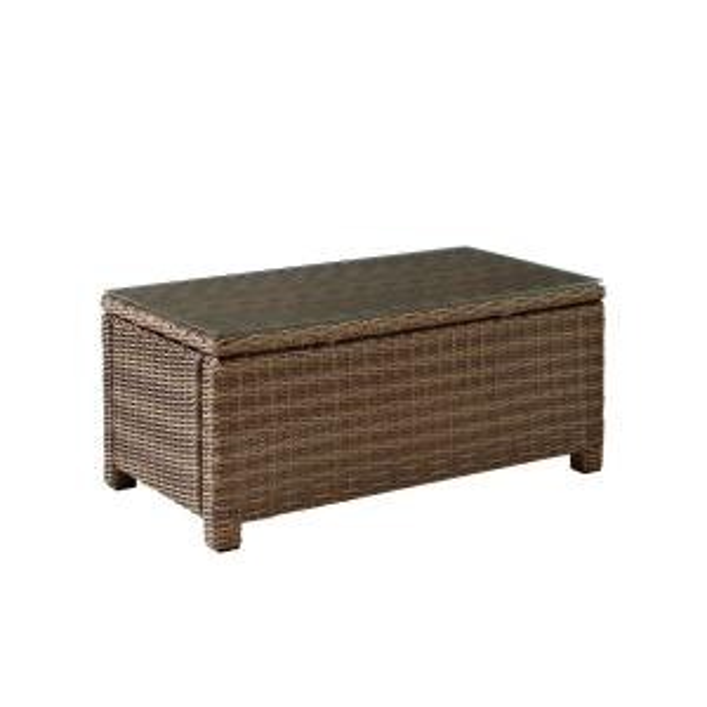 Bradenton Rectangular Wicker Outdoor Coffee Table