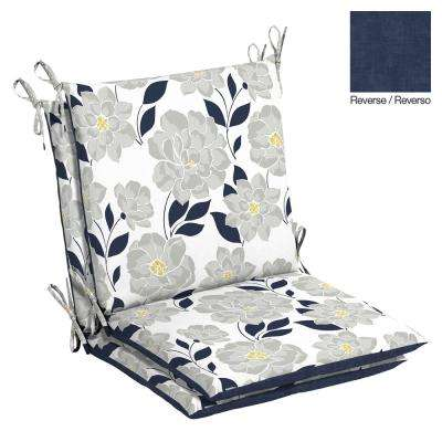 Flower Show Outdoor Dining Chair Cushion (2-Pack)