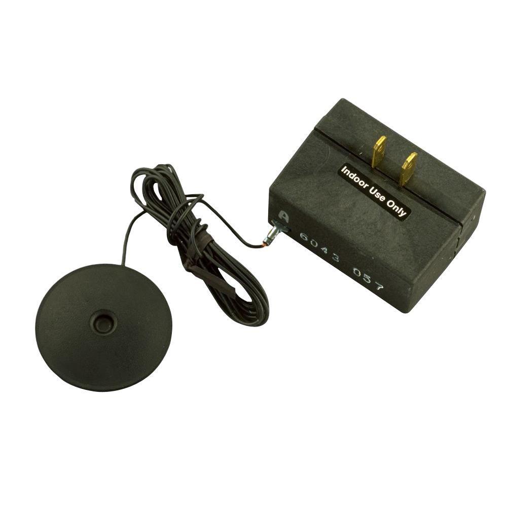 200-Watt Low Voltage Touch Pad Dimmer - Black