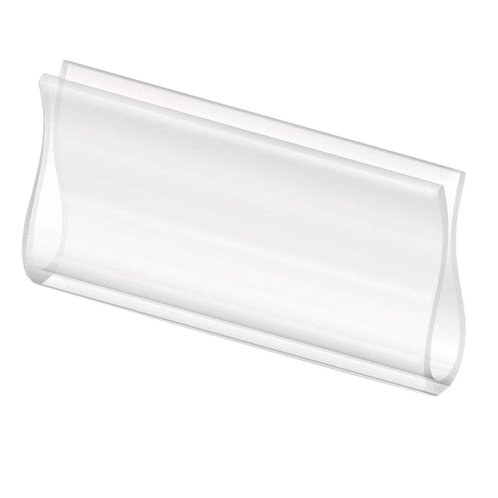 Bali Cut-to-Size 3-1/4 in. Clear Roller Shade Hem Grip