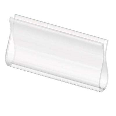 3-1/4 in. Clear Roller Shade Hem Grip