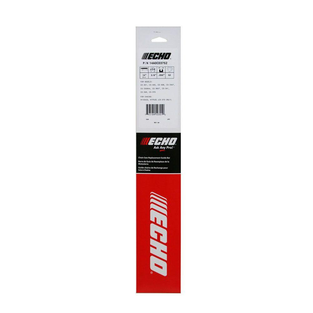 ECHO 12A0CD3744 12 in. Double-Guard 91 Chainsaw Bar