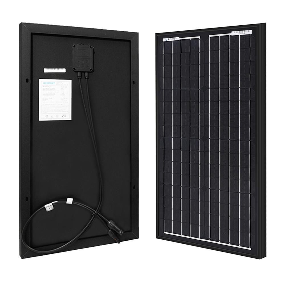 30-Watt 12-Volt Monocrystalline PV Solar Panel