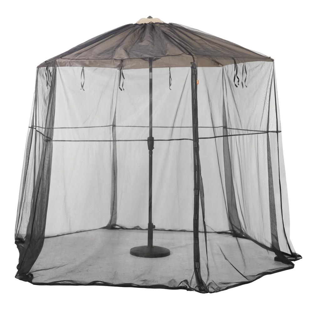 Patio Umbrella Insect Net Canopy