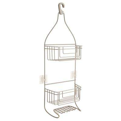 Shower Caddy with IncrediGrip Pads in Nickel