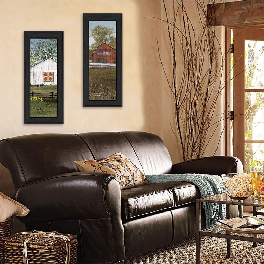 20 In X 16 In Country Barns By Billy Jacobs Printed Framed Wall