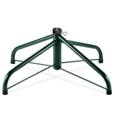 24 in. Folding Metal Tree Stand for 6-1/2 ft. to 8 ft. Trees