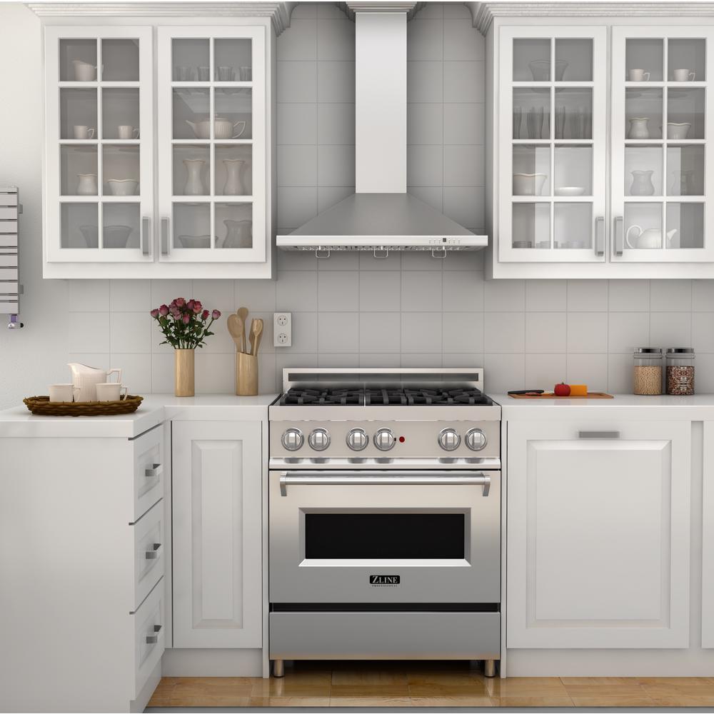 ZLINE Kitchen and Bath ZLINE 48 in. Wall Mount Range Hood in Stainless  Steel (KB-48)