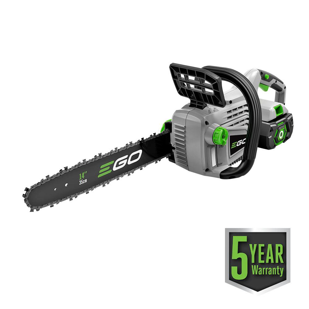 Ego 14 in 56 volt lithium ion cordless chainsaw with 20ah battery 56 volt lithium ion cordless chainsaw with 20ah battery greentooth Images