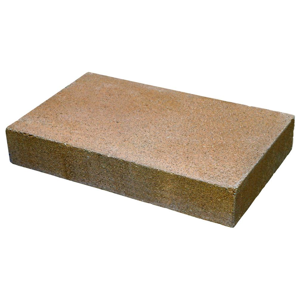Oldcastle Natural Impressions 2 in. x 12 in. x 8 in. Universal Tan Concrete Wall Cap