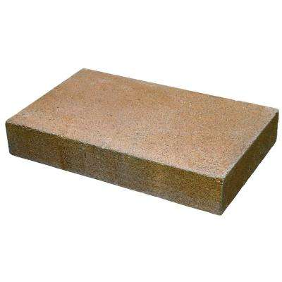Natural Impressions 2 in. x 12 in. x 8 in. Universal Tan Concrete Wall Cap