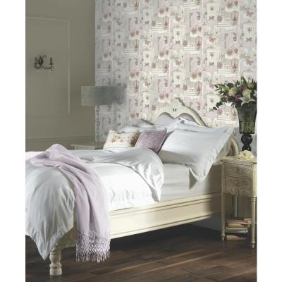 Felicity Soft Pink Un-Pasted Wallpaper