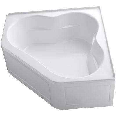 Soaking Kohler Corner Bathtubs Bathtubs The Home Depot