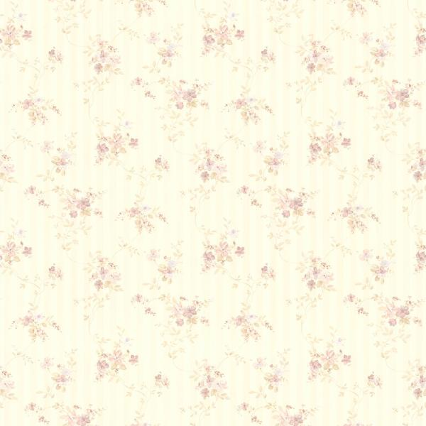 Brewster Bamboo Floral Stripe Wallpaper 282 64076 The Home