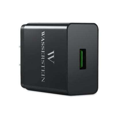 Quick Charge Qualcomm 3.0 USB Wall Charger, Black