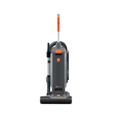 Commercial HushTone 15 In. Plus Hard Bagged Upright Vacuum Cleaner with IntelliBelt