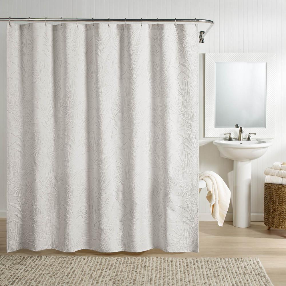Ella Shower Curtain Gray