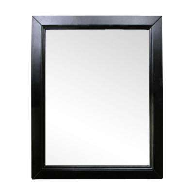 Imperial 24 in. W x 30 in. L Wood Surface-Mount Mirrored Medicine Cabinet in Espresso