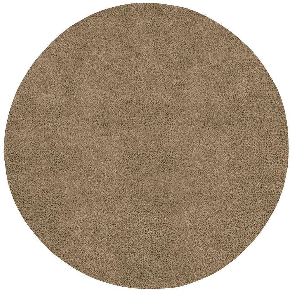 Artistic Weavers Cambridge Tan 8 ft. Round Area Rug