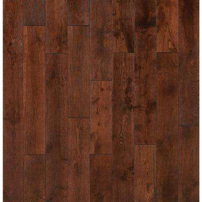 Take Home Sample - French Pinot Noir Solid Click Hardwood Flooring - 5 in. x 7 in.
