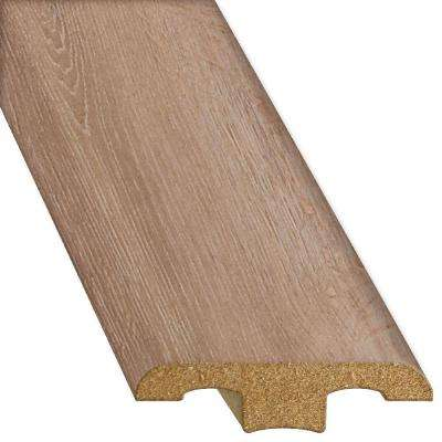 Oak Chateau 1/2 in. Thick x 1-3/4 in. Wide x 94-1/4 in. Length Laminate T-Molding