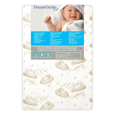 3 in. Spring Coil Portable Mini Crib Mattress