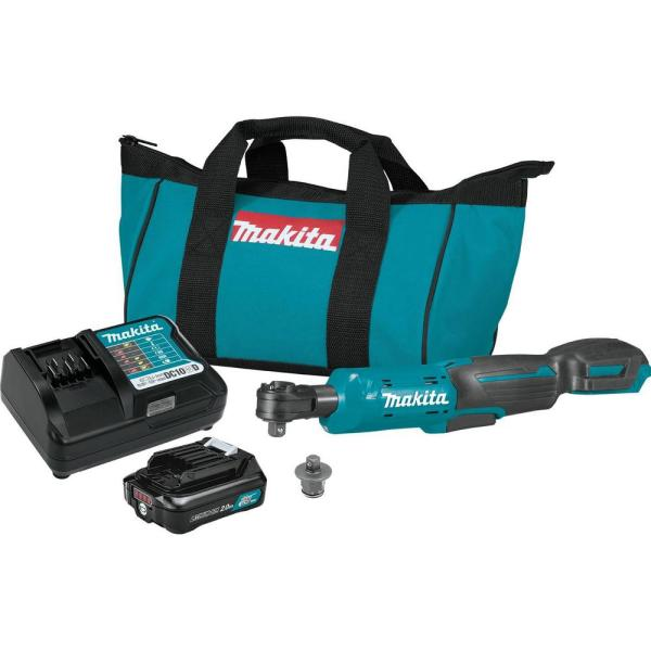 2.0 Ah 12-Volt MAX CXT Lithium-Ion Cordless 3/8 in./1/4 in. Sq. Drive Ratchet Kit