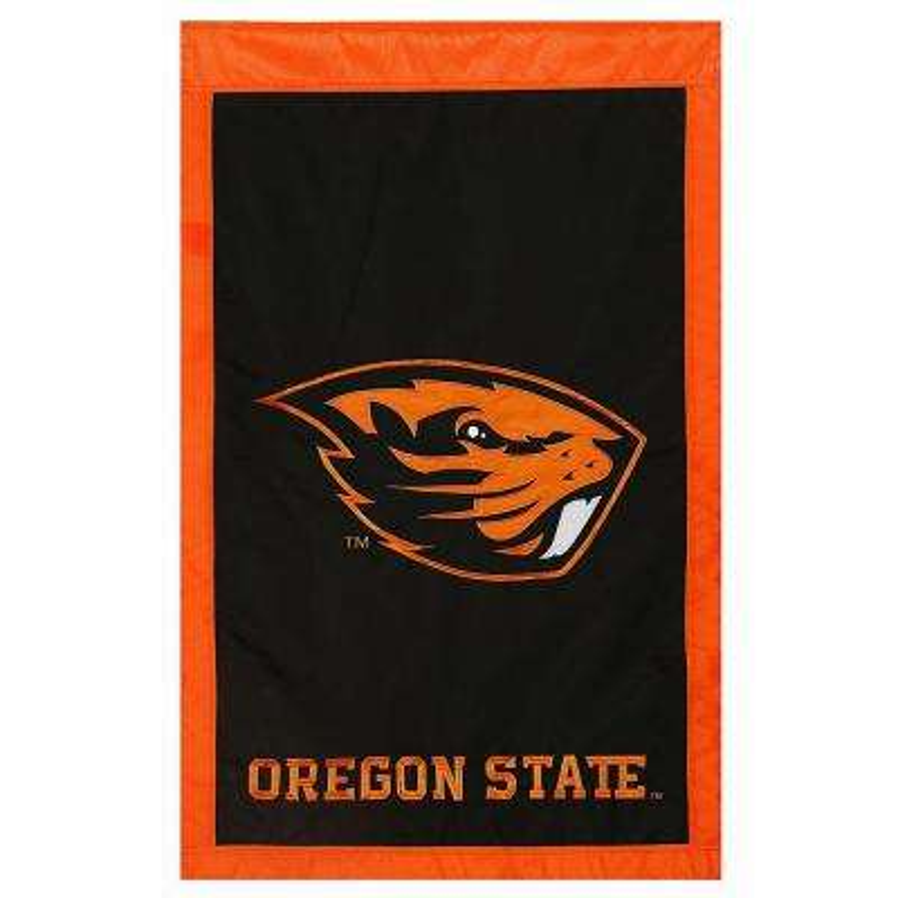 2.4 ft. x 3.6 ft. Oregon State University Applique House Flag
