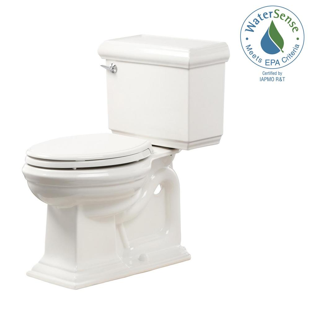 KOHLER Memoirs 2-piece 1.28 GPF Single Flush Elongated Toilet in White, Seat Included (3-Pack)