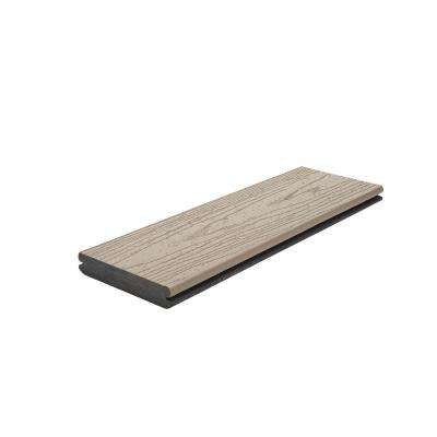 Transcend 1 in. x 5.5 in. x 1 ft. Rope Swing Composite Decking Board Sample (Model # RST92000 )