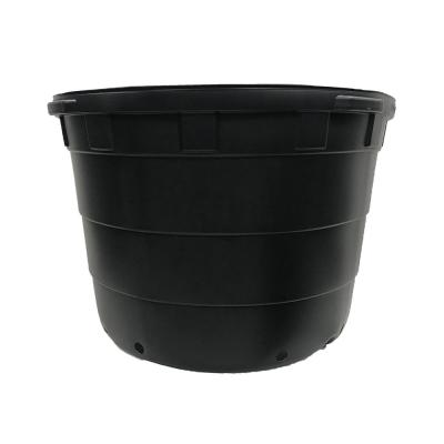 50 Gal. Round Plastic Nursery Garden Pots (5-Pack, 47 Actual Gallons/177.91 l/7.31 cu. ft.)
