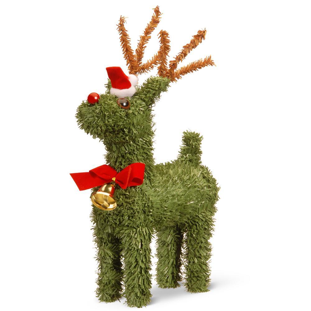 8 in. Evergreen Reindeer