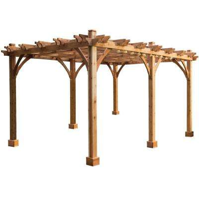 Breeze 12 ft. x 20 ft. Cedar Pergola