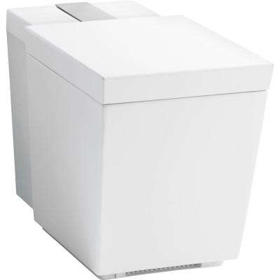 Numi Comfort Height One-Piece elongated Dual-Flush Toilet with Integrated Bidet in White, 1.28 gallons per flush